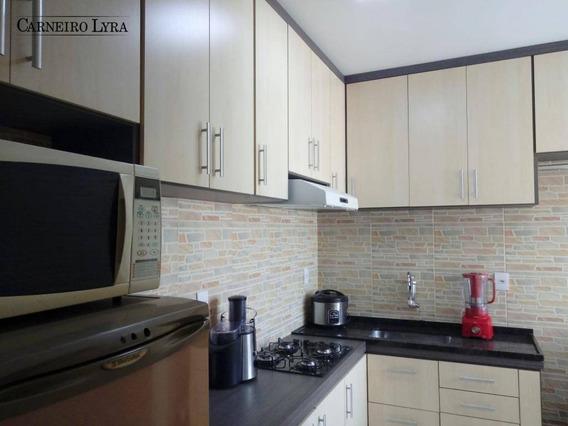 Apartamento Com 2 Dormitórios À Venda, 65 M² Por R$ 148.000 - Jardim Vila Maria - Jaú/sp - Ap0654
