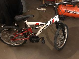 Bicicleta Infantil Rodado 20 Doble Suspensión