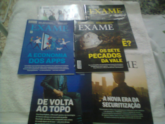 Revista Exame Lote 6 Revistas Frete Gratis Compre Retirar P