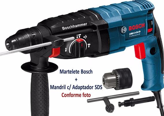 Furadeira Bosch + Mandril.