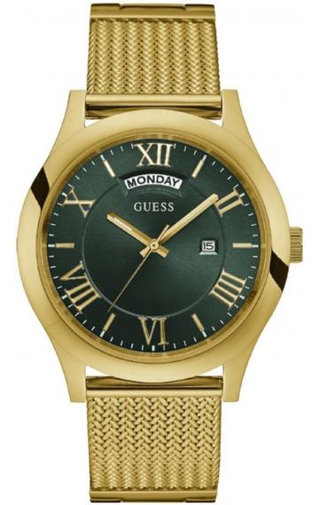 Relógio Masculino Dourado Guess Analógico 92633mpgdda2