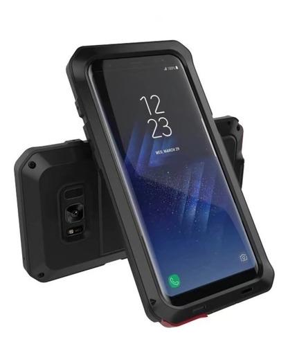 Case Metal Heavy Armor Para iPhone 7s Negro