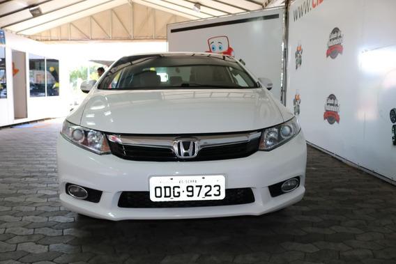Honda Civic 1.8 Lxl Flex Aut. 4p 2012 Unico Dono