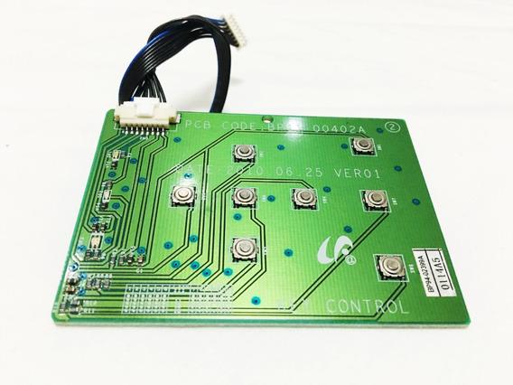 Placa Teclado C/flat Projetor Samsung Sp-m250s & Compatív