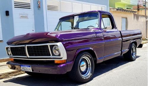 Imagem 1 de 15 de Ford F100 1973 6cc 4100 Cooper Cobra Tala 10