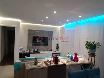 Lindo Apartamento Em Condomínio Clube Para Venda No Bairro Boa Vista Em São Caetano - 5023