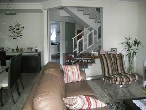 Casa À Venda, 267 M² Por R$ 1.250.000,00 - Embaré - Santos/sp - Ca0254