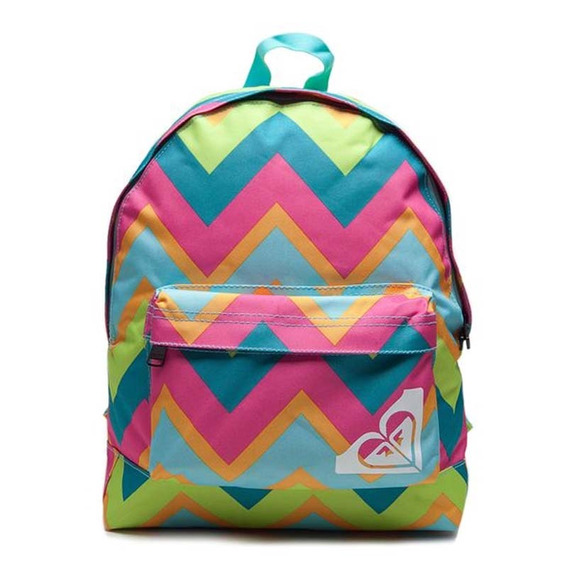 Mochila Roxy Sugar Baby New Chevron