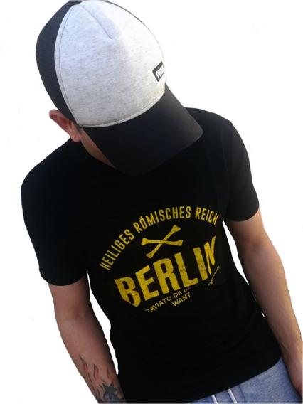 Remera Hombre Premium Importada Berlin