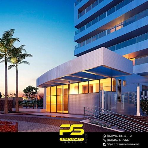 Apartamento Com 5 Dormitórios À Venda, 414 M² Por R$ 3.046.327 - Altiplano - João Pessoa/pb - Ap3092