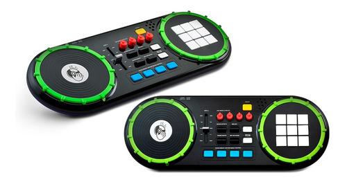 Brinquedo Dj Mixer Com Painel De Led - Multikids