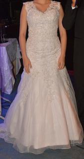 Vestido De Noiva Estilo Sereia Bordado