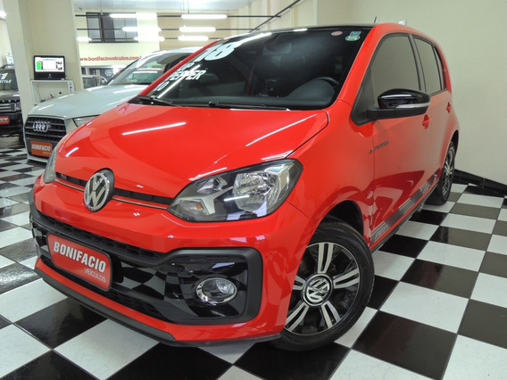 Volkswagen / Up Pepper Tsi 1.0 - Flex - Vermelha - Completo
