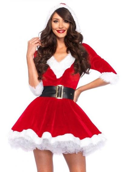 Disfraz De Mrs. Claus, Mujer Santa Claus