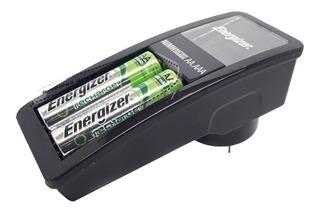 Cargador Energizer Mini Carga Aa Aaa + 2 Aa 1350mah Ch2pc4