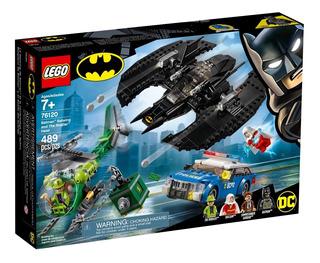 Lego® Dc Sh - Batiplano Y El Asalto Del Acertijo (76120)