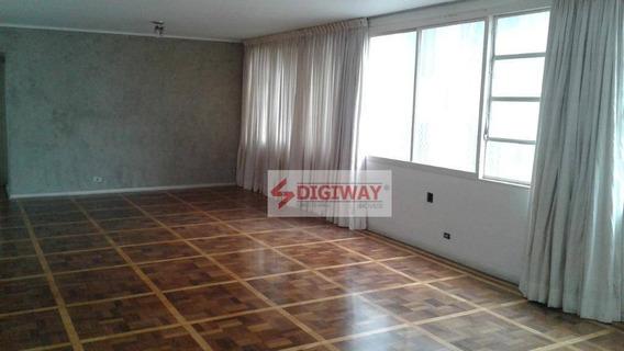 Apartamento Com 3 Dormitórios À Venda, 163 M² Por R$ 780.000 - Aclimação - São Paulo/sp - Ap1630