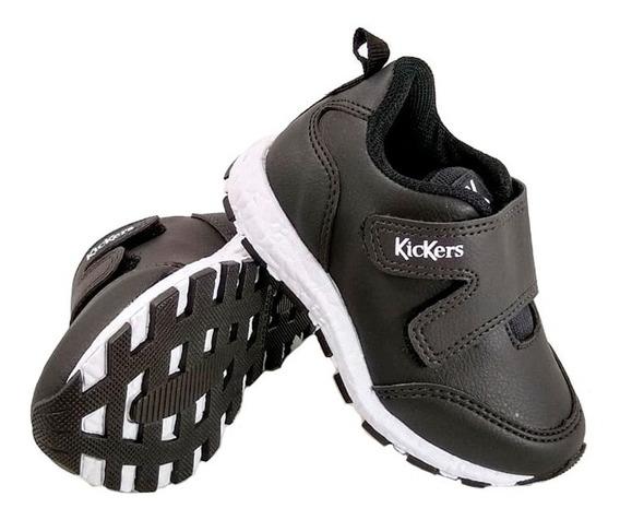 Zapatillas Kickers Niños Lars Colegial 505304 Eezap