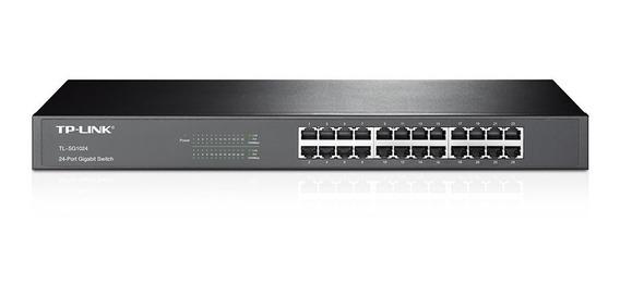 Switch 24 Bocas Tp-link Tl-sg1024d 10/100/1000 Mbps