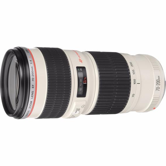 Lente Canon 70-200mm Ef F/4l Usm Garantia/pronta Entrega