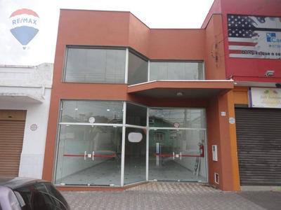 Salão Para Alugar, 210 M² Por R$ 5.000/mês - Centro - Atibaia/sp - Sl0062