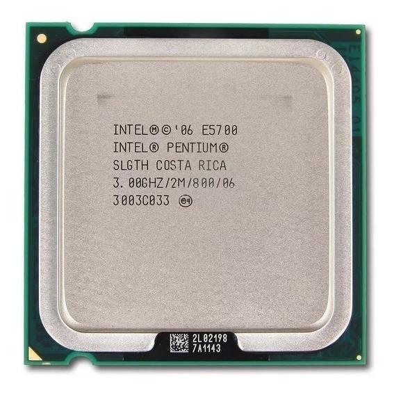 Processador Intel Pentium Dual Core E5700 3,00ghz 775 Usado