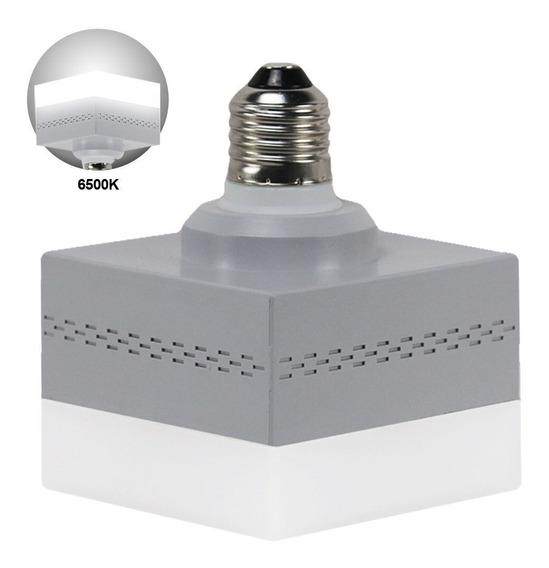 Lâmpada Led E27 Quadrada Decorativa 28w 3000l Ra80+ Garantia