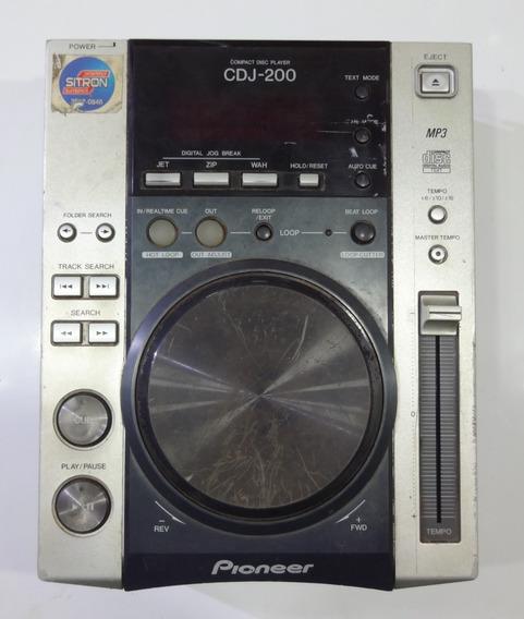 Cdj-200 Pioneer (com Defeito)