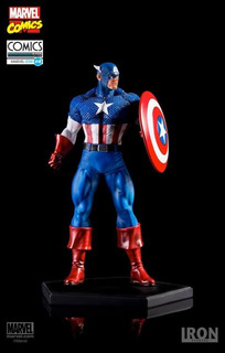 Iron Studios Marvel Comics Captain America 1/10 Art Scale