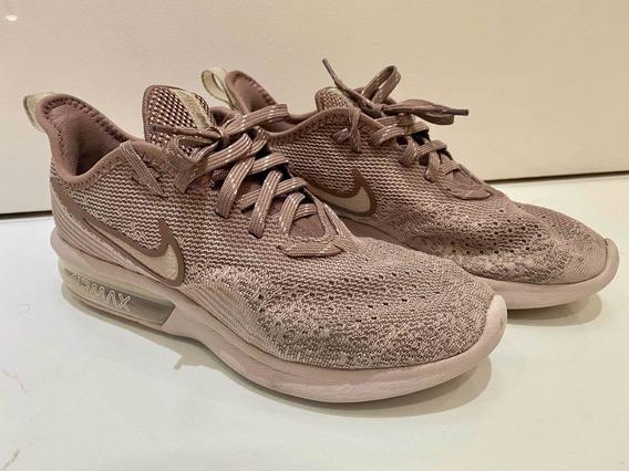 Tênis Nike Air Max Sequent 4 Rose! Tamanho 35! Promoção!