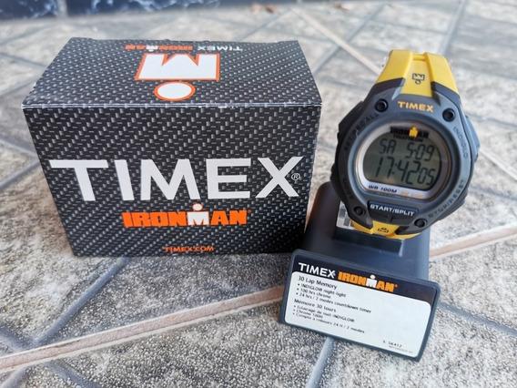 Relógio Timex Ironman Timex T5k414wkl/tn Amarelo