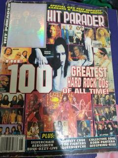 Revista Hit Parader Agosto 1997 Kiss Metallica, Bon Jovi Más