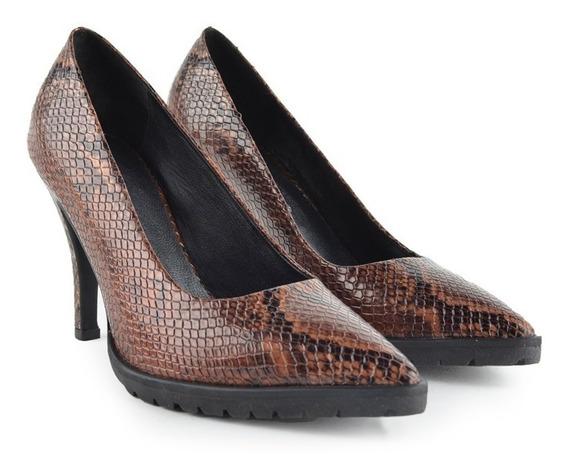 Zapatos De Mujer Mule De Cuero De Vestir Mantua - Ferraro -