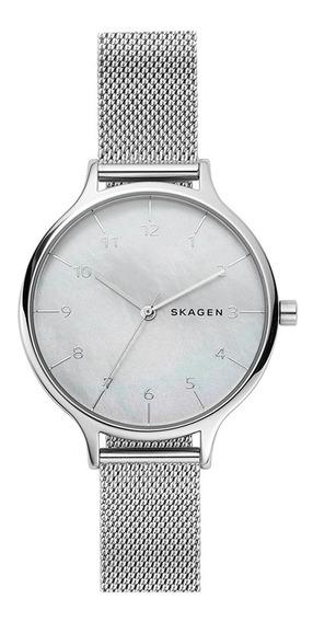 Relógio Feminino Skagen Anita Slim Prateado Skw27011kn
