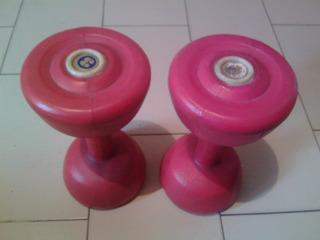 Remato Pesas 3kg Olimpic 2x1 Combo Mancuernas Oferta Barato