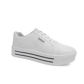 Tenis Casual Feminino C1841 - Kolosh (03) - Branco