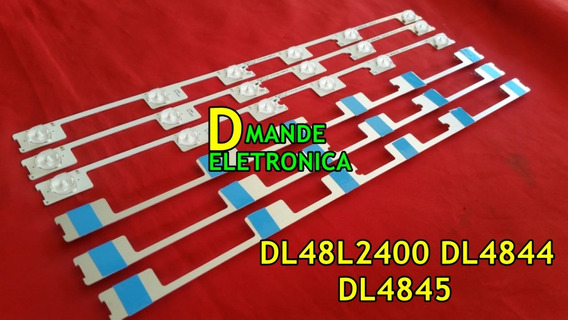 Kit Dl48l2400 Dl4844 Dl4845 48l5400 6 Barras