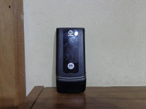 Celular Motorola W375 Carregador Original Leia Descrição
