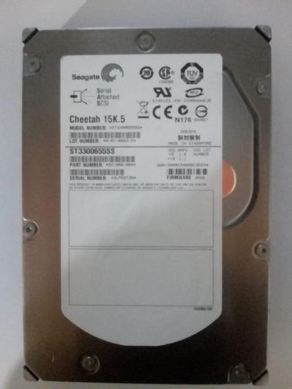 Hd Sas 15k.5 300gb Seagate St3300655ss Pn: 9z1066-080