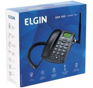 Telefone Celular De Mesa Para Antena Rural Elgin Gsm 100
