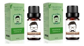 2x Aceite Barba Y Bigote - Humecta Y Protege
