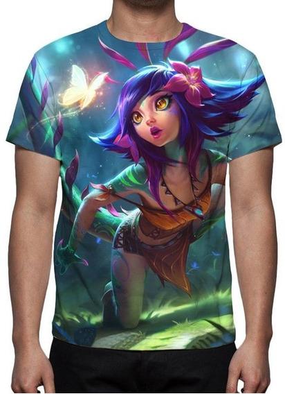 Camiseta Lol Neeko Camaleoa Curiosa - Estampa Total