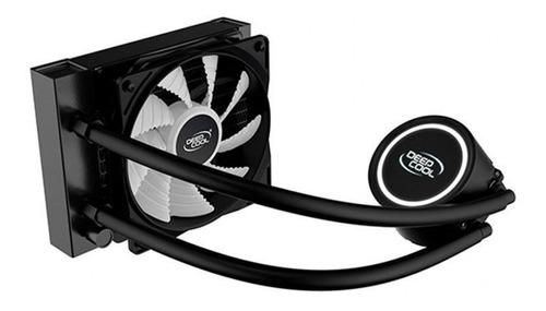 Imagem 1 de 7 de Water Cooler 120mm Gammaxx L120t Deepcool White Intel Amd
