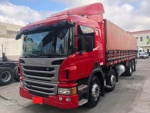 Scania P310 Bitruck Carroceria De Madeira 2015