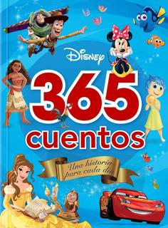 365 Cuentos Disney / Libro Infantil Pasta Dura