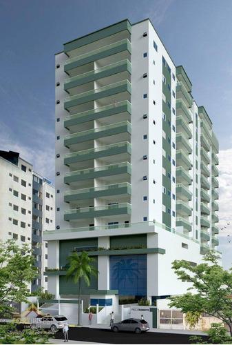Imagem 1 de 14 de Apartamento Com 2 Dormitórios À Venda, 81 M² Por R$ 470.000,00 - Vila Guilhermina - Praia Grande/sp - Ap2612