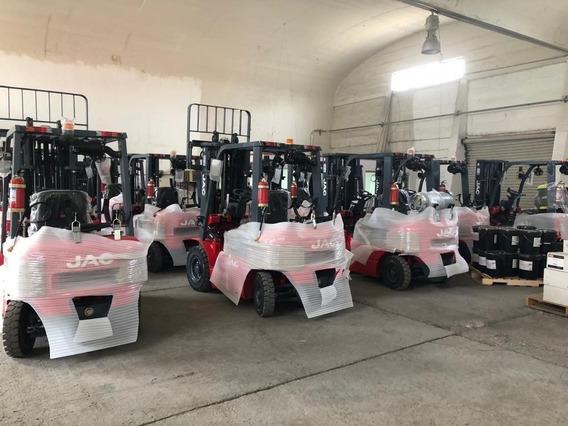 Montacargas Nuevo Jac Forklift 2.5 Tons