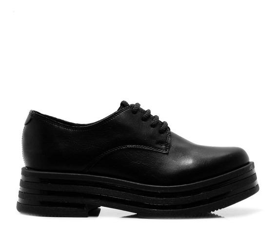 Zapatillas Negras Plataforma Alta Mujer Savage Hotsale