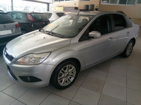 Ford Focus Sedan Automatico 2013 Prata Botao De Start/stop