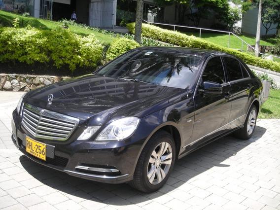 Mercedes Benz E200 Cgi Elegance 2011 Secuencial
